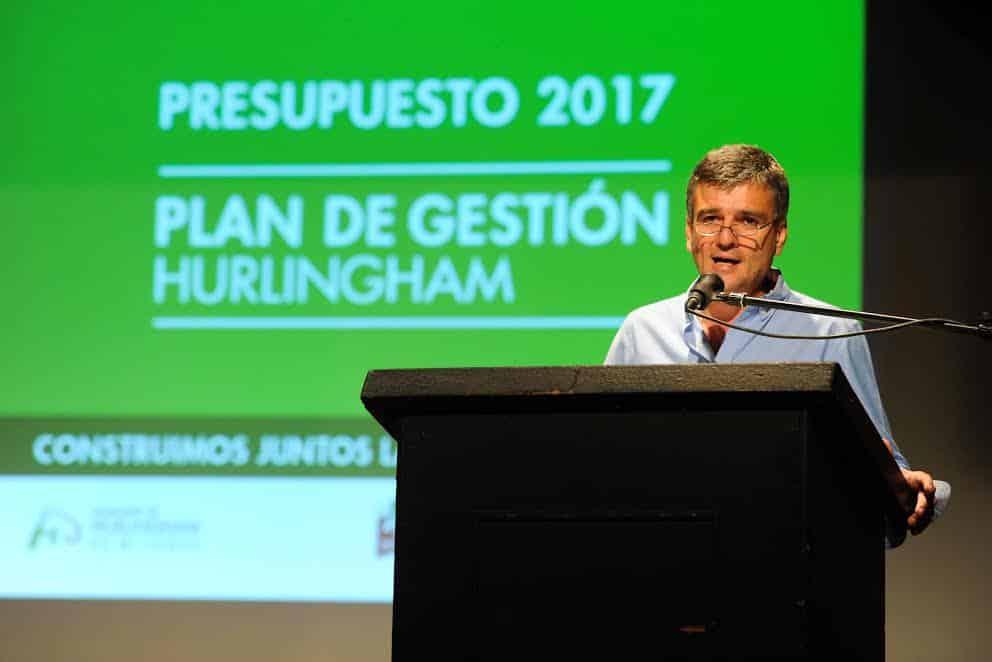 Zabaleta presentó públicamente el Presupuesto 2017