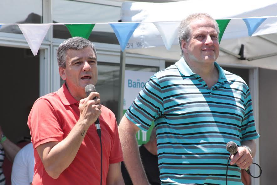 El intendente Zabaleta y el rector Perczyk celebraron el primer aniversario de la UNAHUR