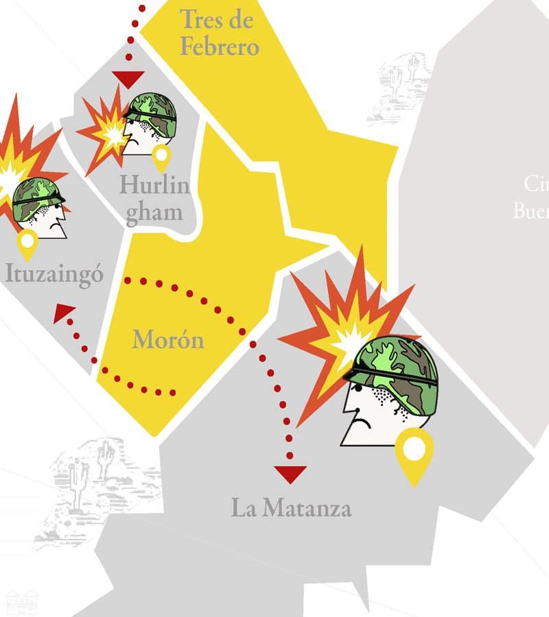 Las batallas y los planes de Cambiemos para pintar el Oeste de amarillo