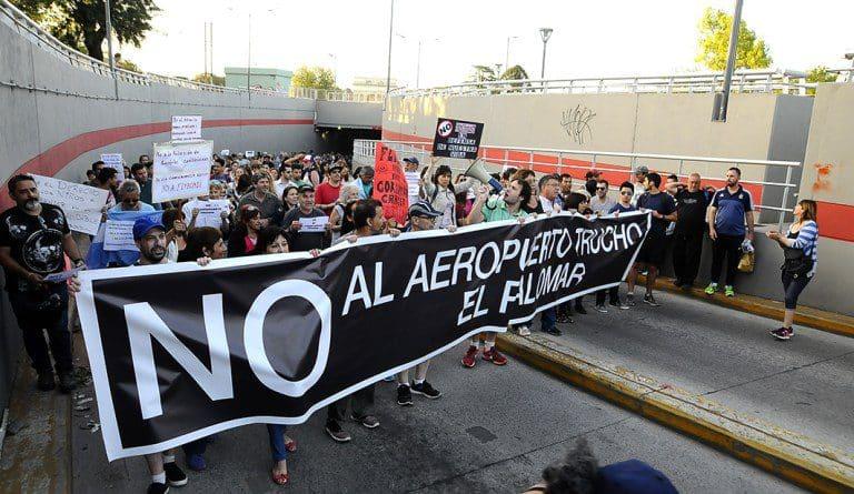 Vecinos del Oeste pidieron a la Corte clausura y cese de vuelos en El Palomar