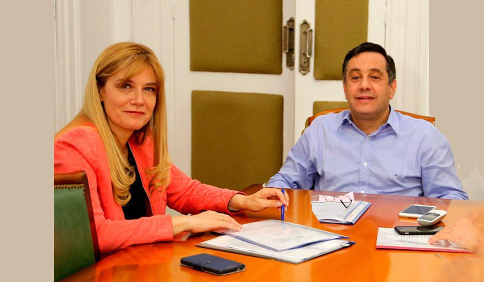 Con el conflicto docente, Magario y Finocchiario calientan la campaña electoral de La Matanza