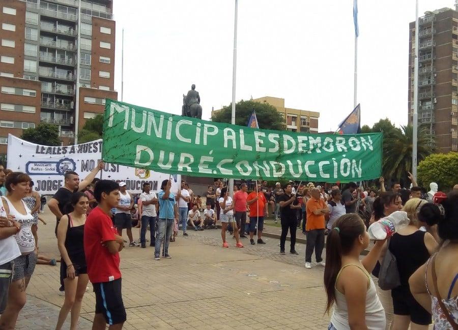 """Municipales de Morón buscan reabrir las paritarias: """"somos los más pobres del país"""""""
