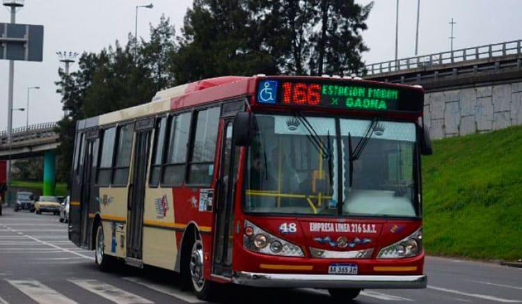 Extendieron el recorrido de la línea 166 y llegará hasta Ciudad Universitaria