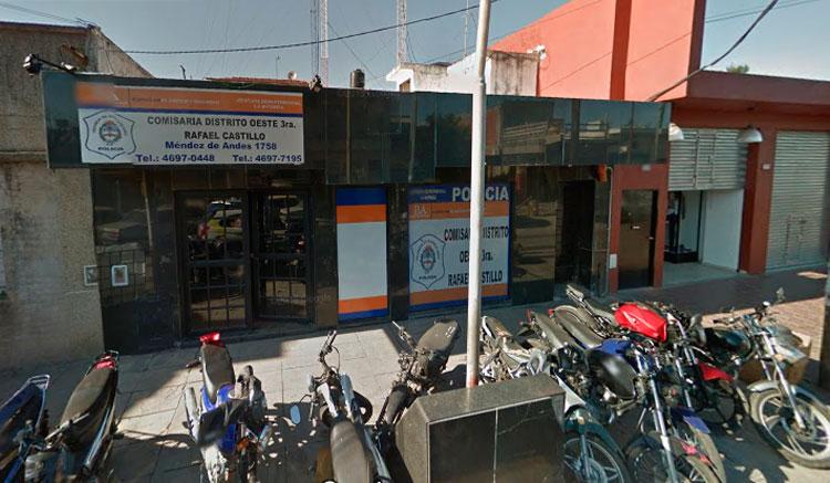 Rafael Castillo: detuvieron a un comisario que exigió plata a cambio de devolver los papales de una moto