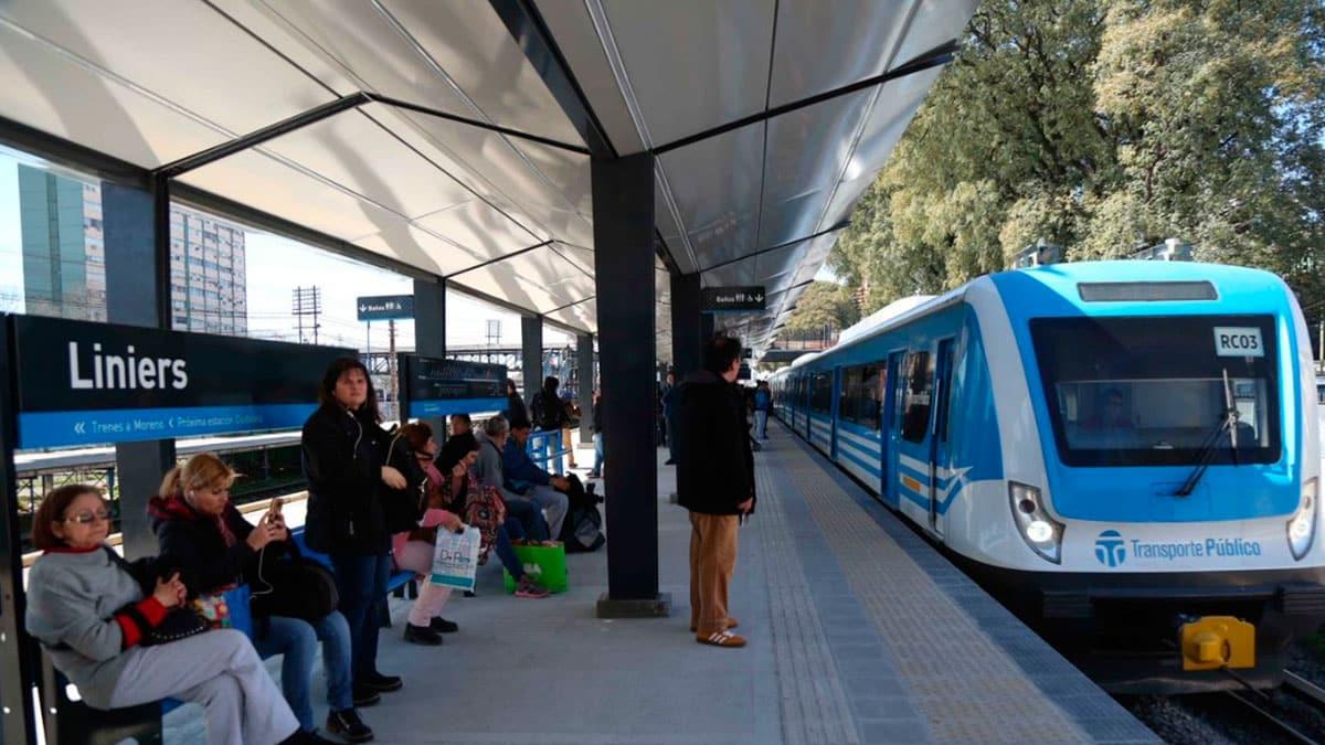Paro del tren Sarmiento: levantan molinetes por la detención de un trabajador