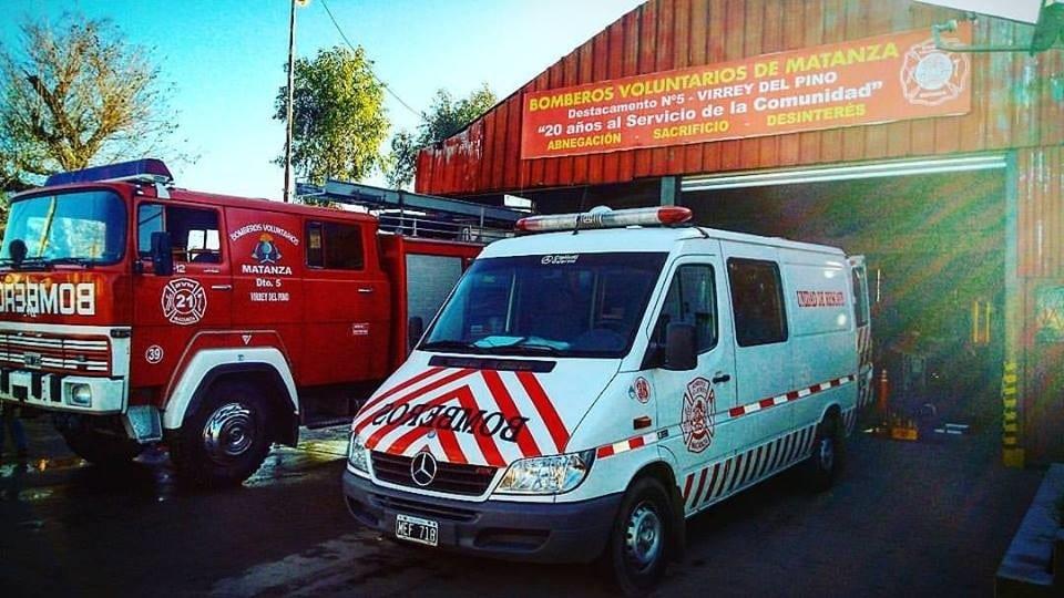 Edenor intentó cortarle la luz a los Bomberos Voluntarios de Virrey del Pino
