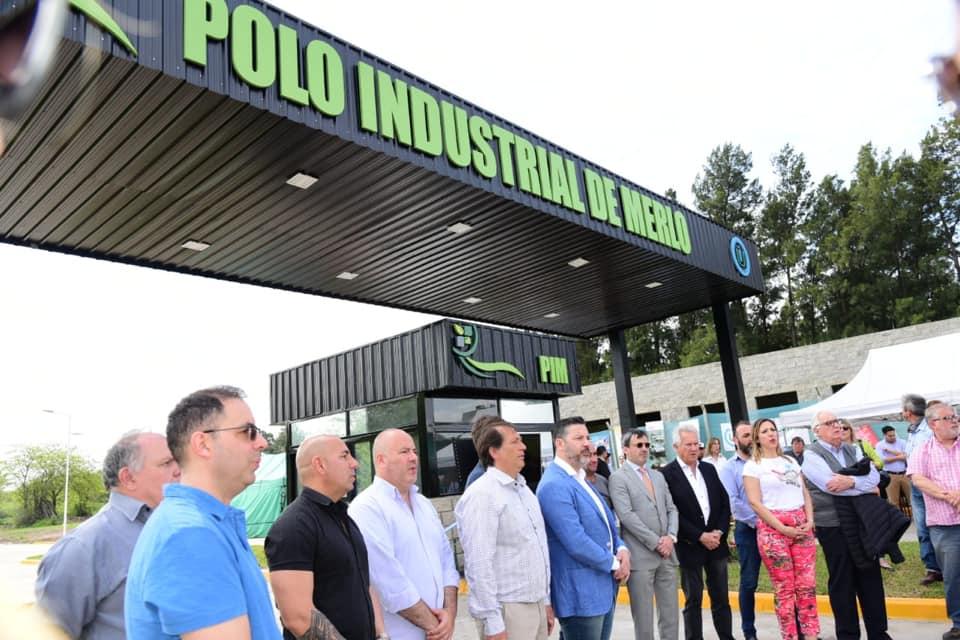 Con diez empresas comenzó la primera etapa del Polo Industrial de Merlo