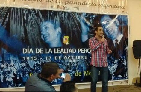 Fuerte reacción en Morón por el uso de una foto de Eva y Perón en la campaña de Tagliaferro