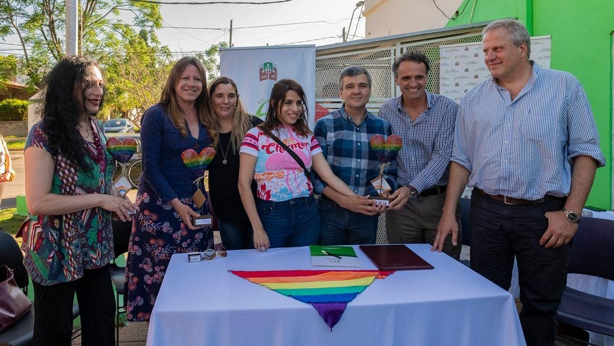 Hurlingham y San Martín firmaron un convenio en materia de derechos para personas LGTBIQ