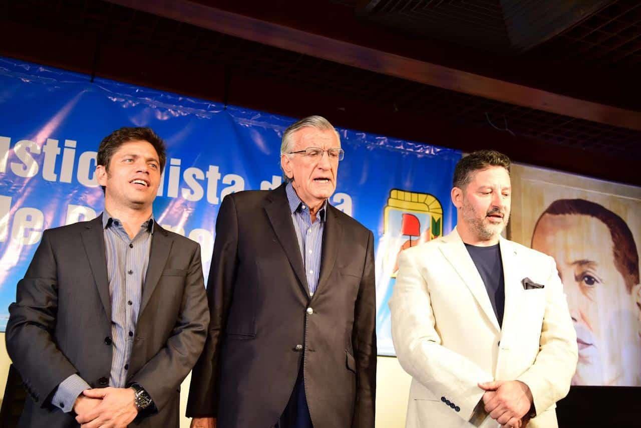 Gustavo Menéndez reasume como titular del PJ