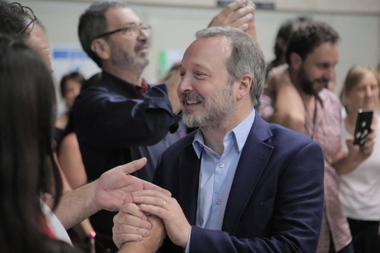 Sabbatella asumió formalmente la conducción de la Autoridad Cuenca Matanza Riachuelo