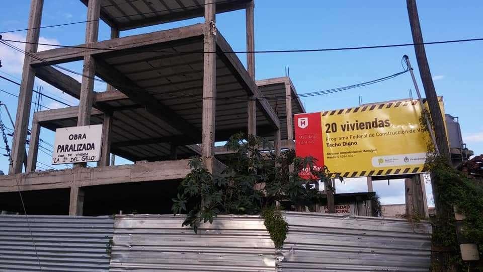 El sueño de la casa propia: en Morón se reactivan obras de viviendas frenadas por el macrismo