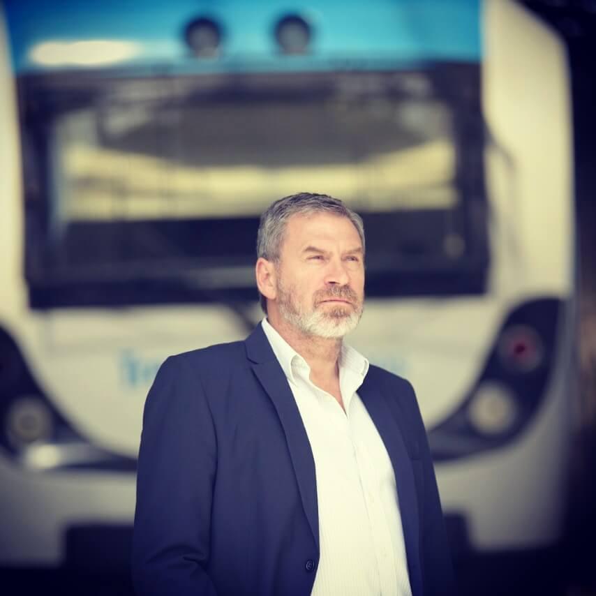 El gerente de la línea Belgrano Sur