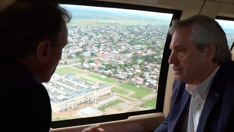 Coronavirus: Alberto recorrió dos hospitales abandonados en La Matanza y criticó a la oposición