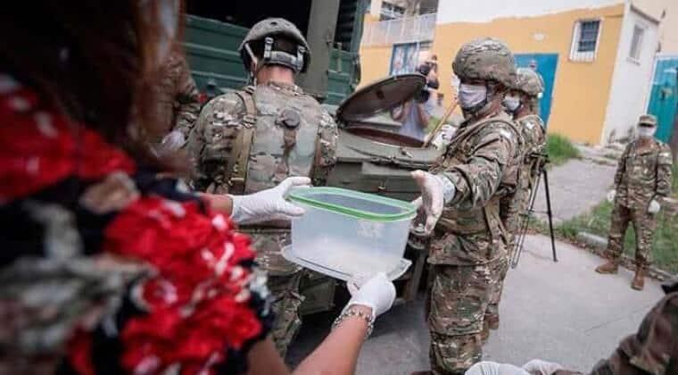 Es inminente el desembarco del Ejército en La Matanza: se evalúa que distribuya comida durante 21 días