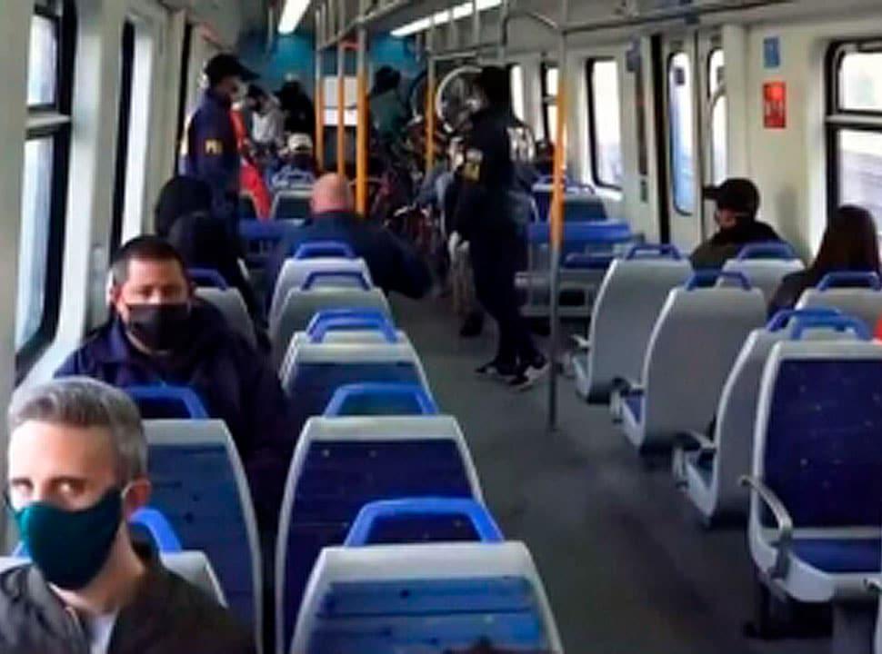 El Tren Sarmiento volvió a funcionar: hay leves demoras y micros de apoyo