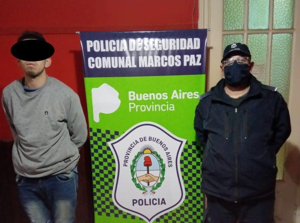 Un policía de Ituzaingó fue detenido por resistencia a la autoridad y portación ilegal de arma de guerra