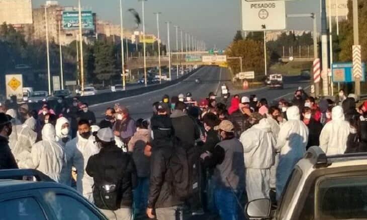 Balearon a un fumigador: vecinos de Villa Madero cortaron la Ricchieri en reclamo por seguridad