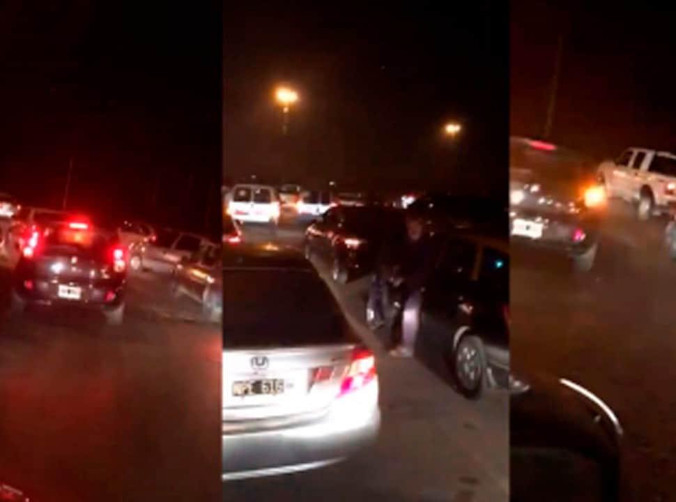 Video: Caravana y bocinazo contra las tomas de tierras en Ciudad Evita