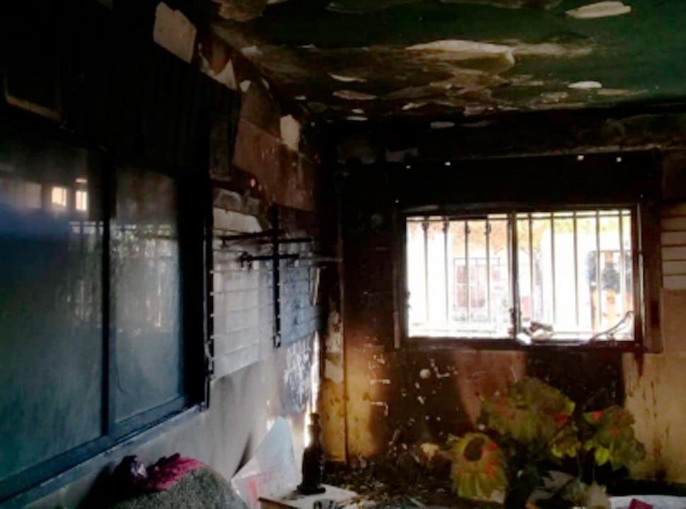 La Matanza: acusan a un joven de incendiar la casa de su exnovia