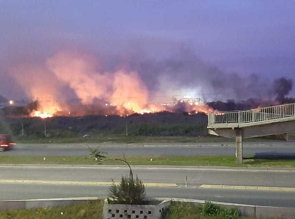"""Nuevo incendio en la Reserva Natural de Laferrere: """"fue intencional"""", aseguran los ambientalistas"""
