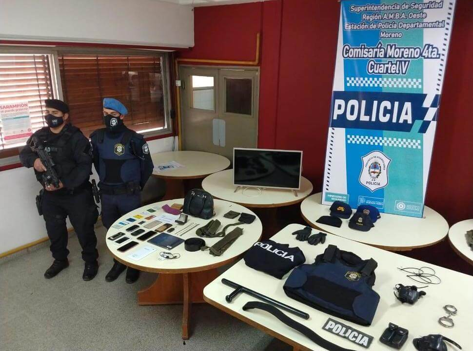 Cayó una banda de delincuentes liderada por un policía exonerado de Merlo