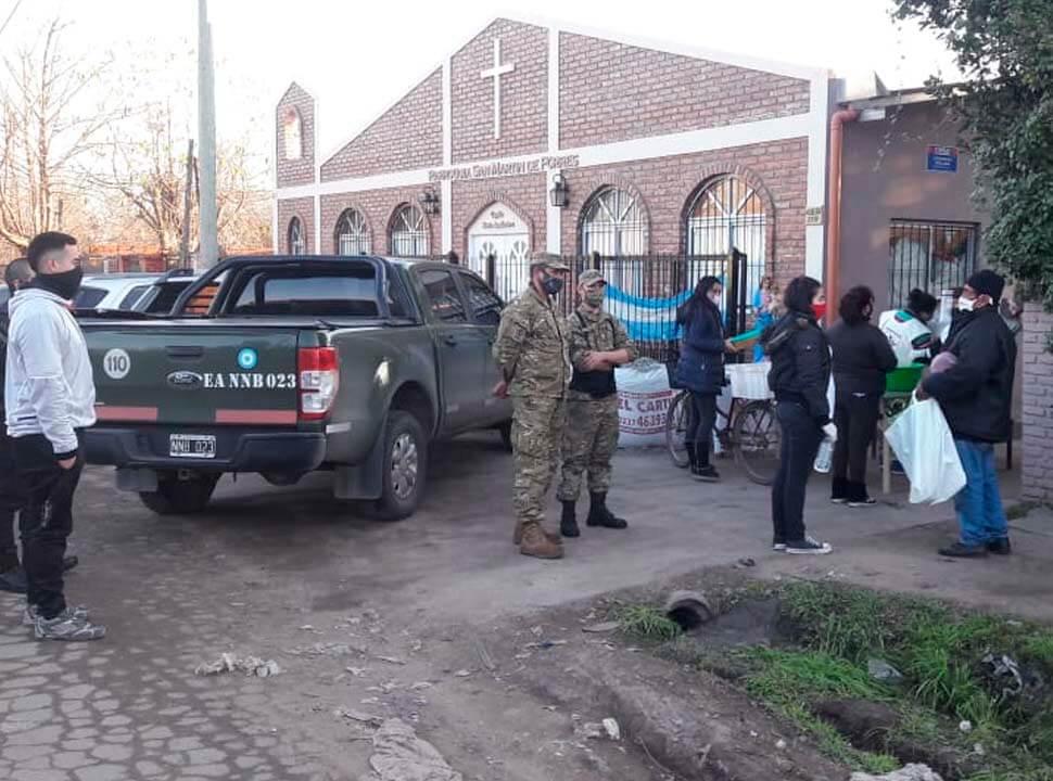 Moreno no ampliará el reparto de alimentos del Ejército por falta de fondos para combustible y viáticos de soldados