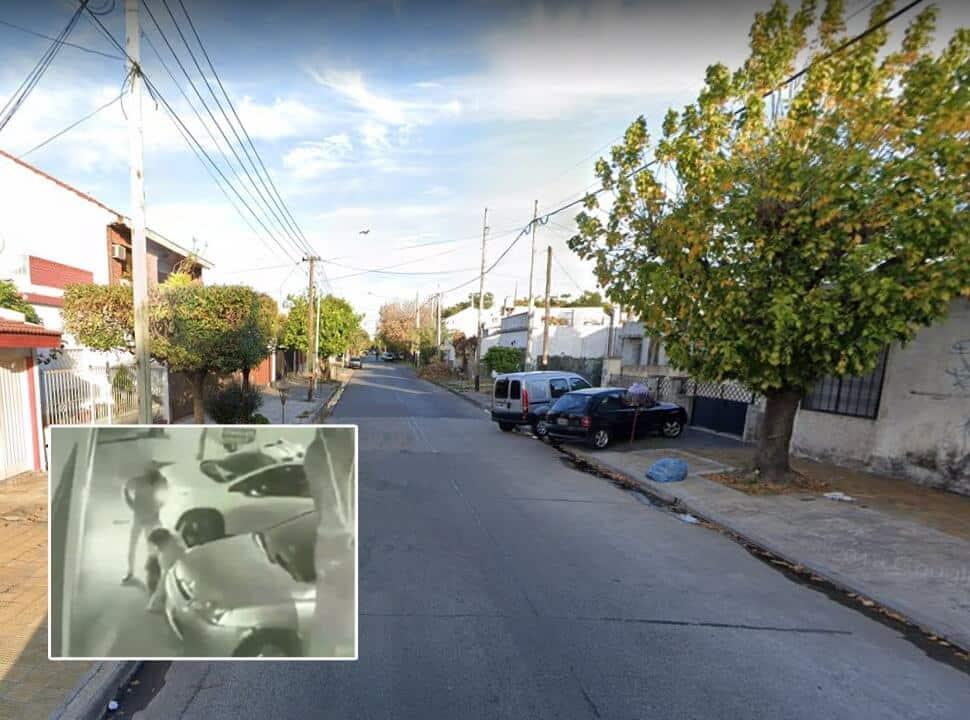 VIDEO | San Justo: lo obligaron a arrodillarse y le robaron $ 100 mil, el auto y el anillo de casado