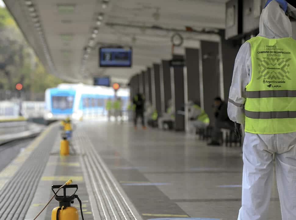 El Tren Sarmiento circulará este lunes con demoras por Covid-19 y pondrán micros a la tarde
