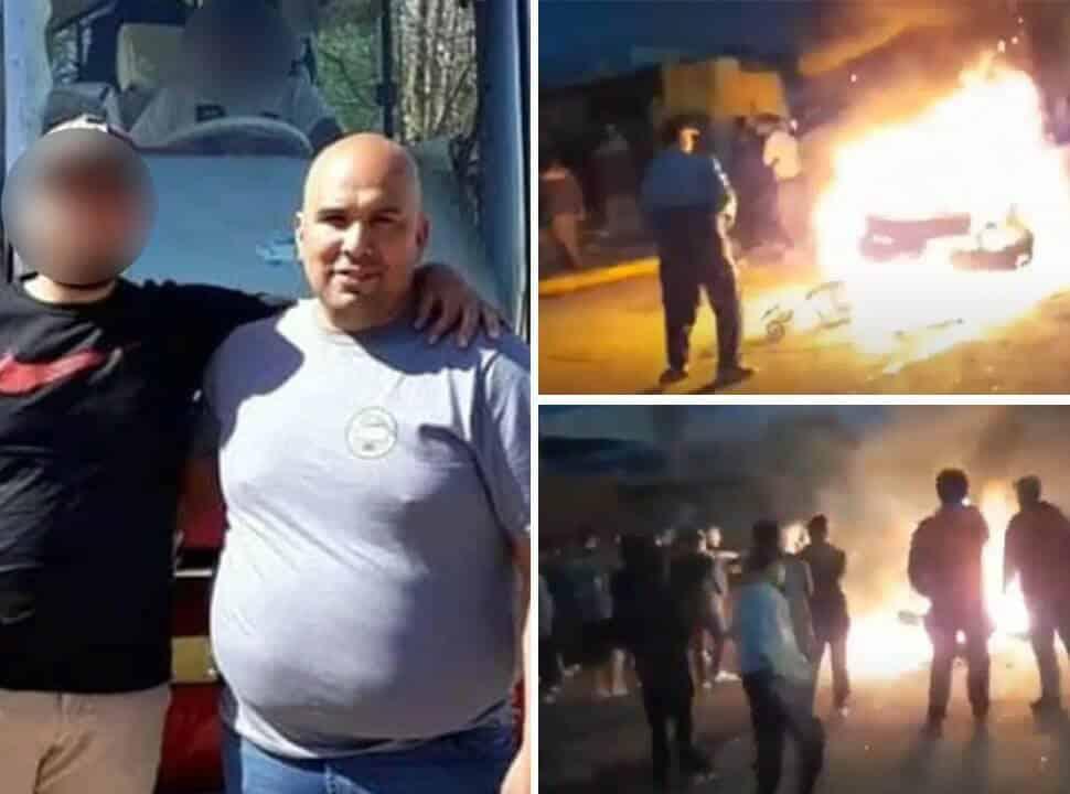 Linchamiento y hoguera en Merlo: marcha por la inseguridad y la liberación de los acusados