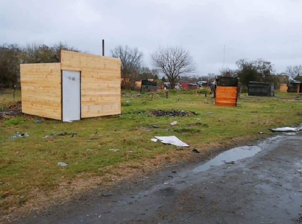 La Bonaerense desalojó un intento de toma de tierras en Ciudad Evita: hubo heridos y detenidos