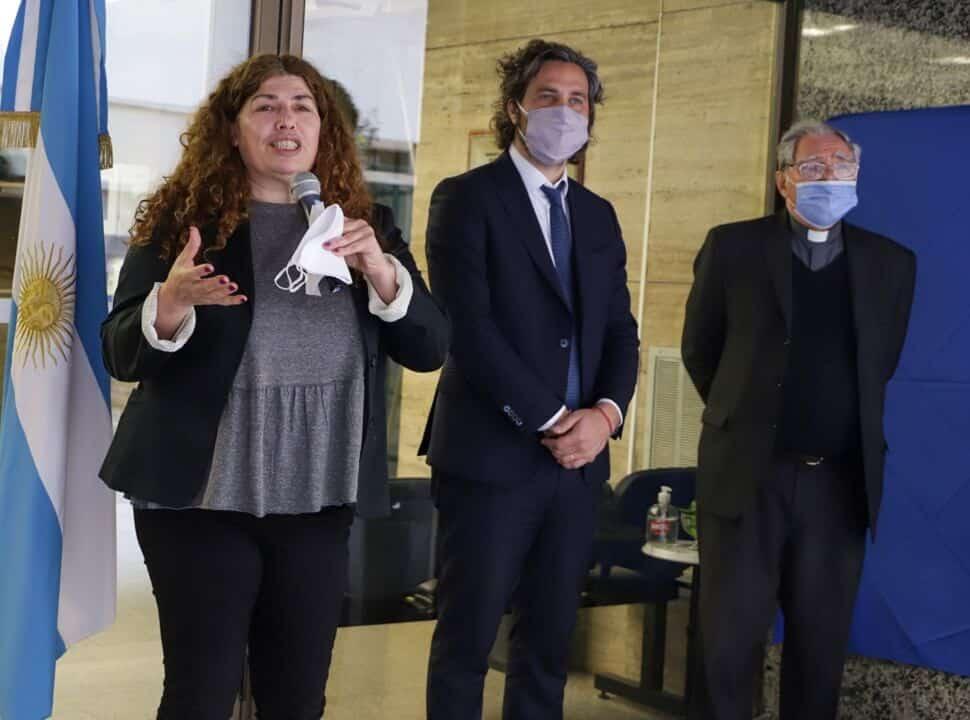 """Santiago Cafiero, en el homenaje al Padre Bachi: """"Tenemos que redoblar esfuerzos por los que menos tienen"""""""