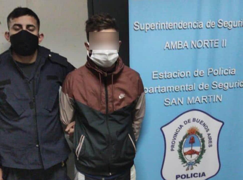 San Andrés: dos adolescentes balearon a un hombre para robarle el auto