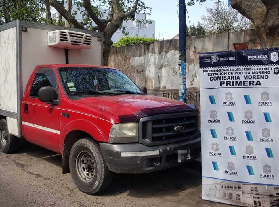 Recuperan en Moreno una camioneta que había sido robada en La Matanza