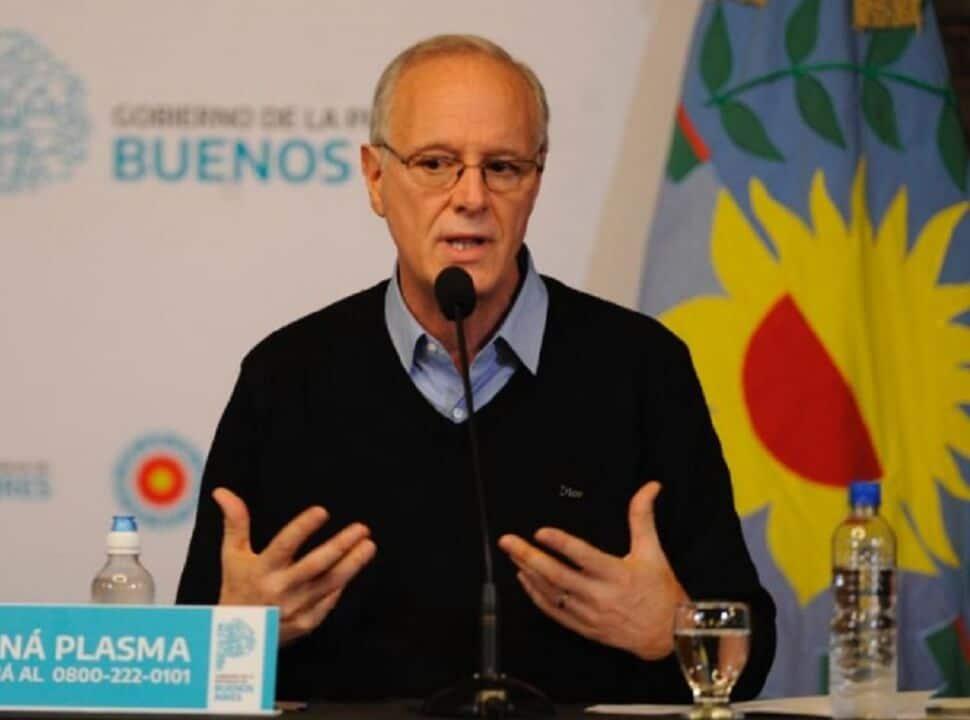 """Daniel Gollán calificó de """"mala leche"""" a los opositores que acusaron a la Provincia de ocultar datos"""