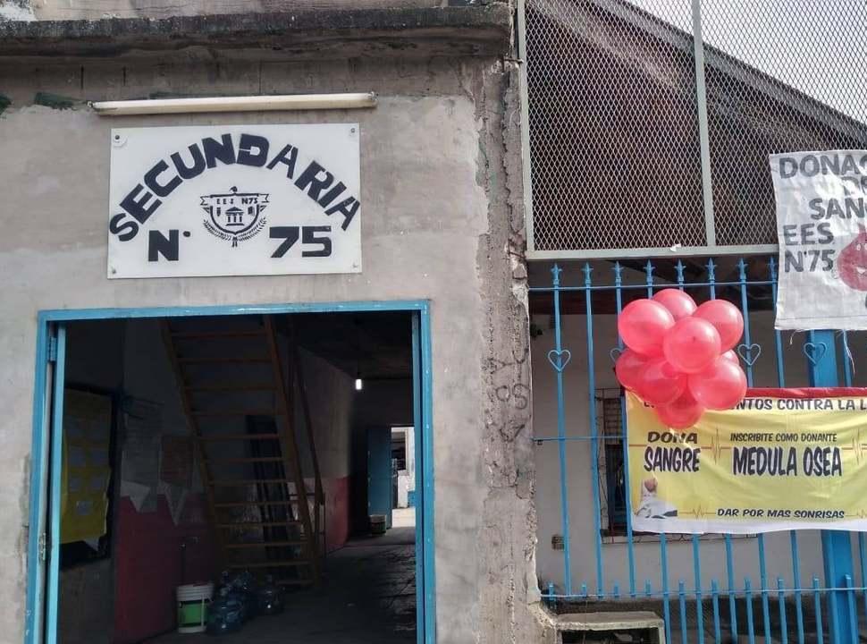 Una escuela de Laferrere lanza una campaña de donación de sangre para el Garrahan