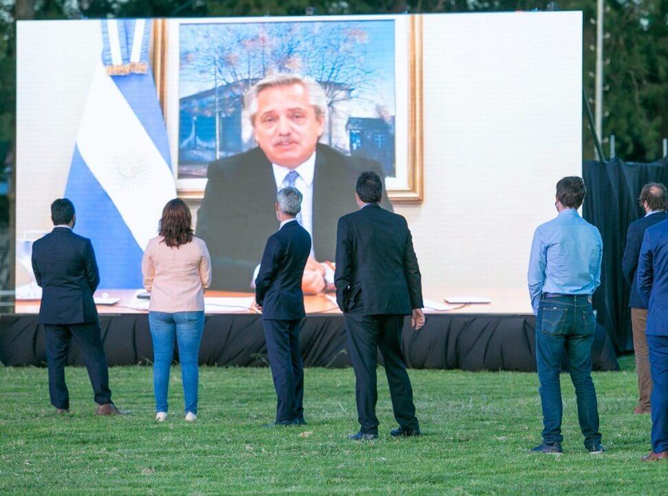 El presidente anunció 10 obras por 5 mil millones de pesos para Morón, Merlo y Moreno