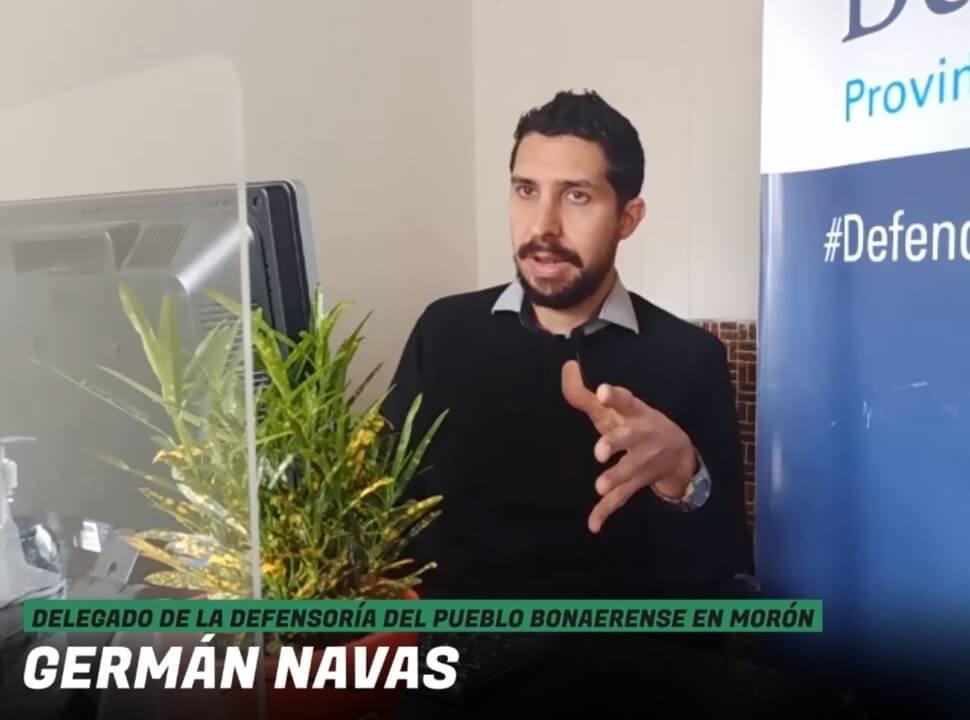 """Germán Navas: """"Quiero que está Defensoría sea una promotora de derechos, un ente divulgador jurídico"""""""