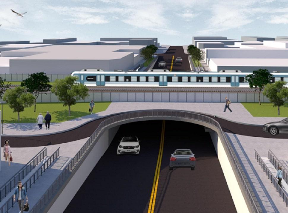 Hurlingham: construirán dos pasos bajo nivel para agilizar el tránsito y mejorar el acceso al hospital municipal