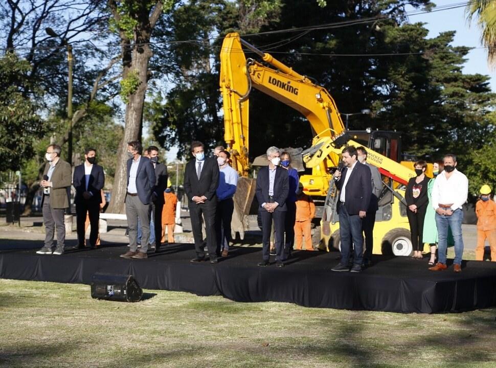 Cómo será la megaobra ferroviaria prevista para San Martín y Tres de Febrero