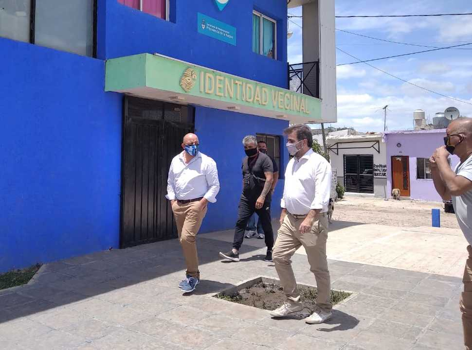 Ritondo en González Catán: reunión con Lalo Creus y charlas para ampliar Cambiemos en La Matanza