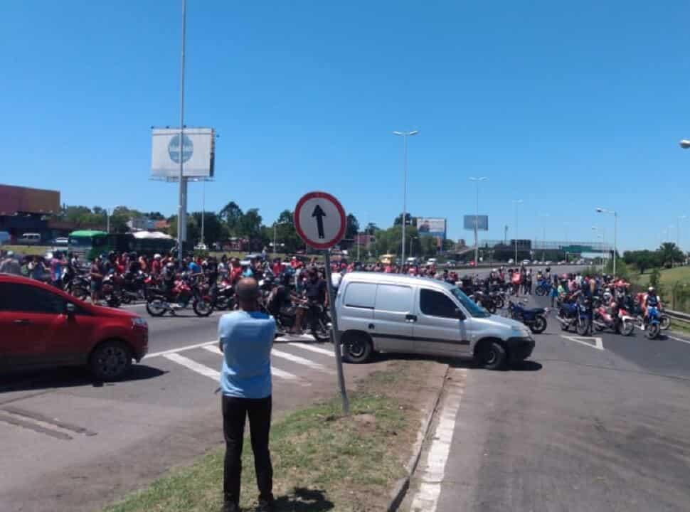 Ituzaingó: marchas y protestas por un joven repartidor que fue baleado en la cabeza