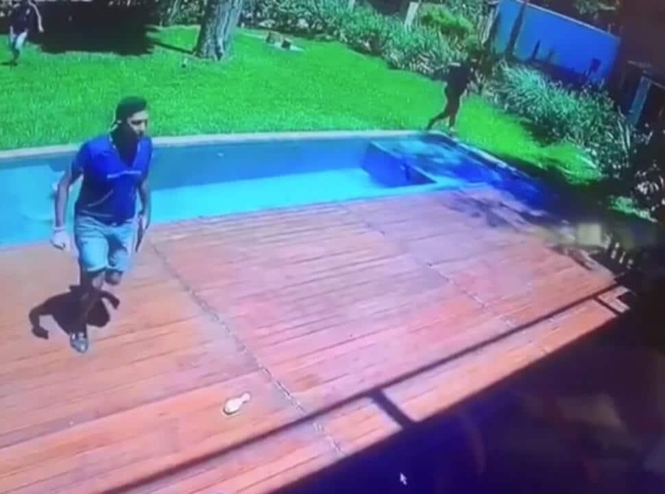 VIDEO | Ituzaingó: Cuatro delincuentes asaltaron a dos familias y la policía logró detener a dos sospechosos