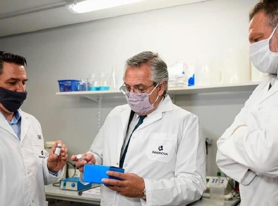 """Rector de la Unsam sobre el suero hiperinmune: """"Hay 12 mil dosis producidas y reduce 45% la mortalidad"""""""