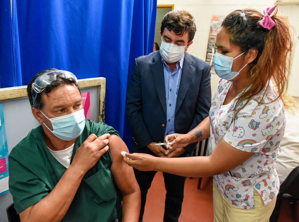 Cuántas personas se aplicaron la vacuna contra el coronavirus en La Matanza