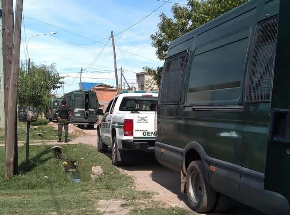 Un gendarme resultó herido en un tiroteo en La Matanza
