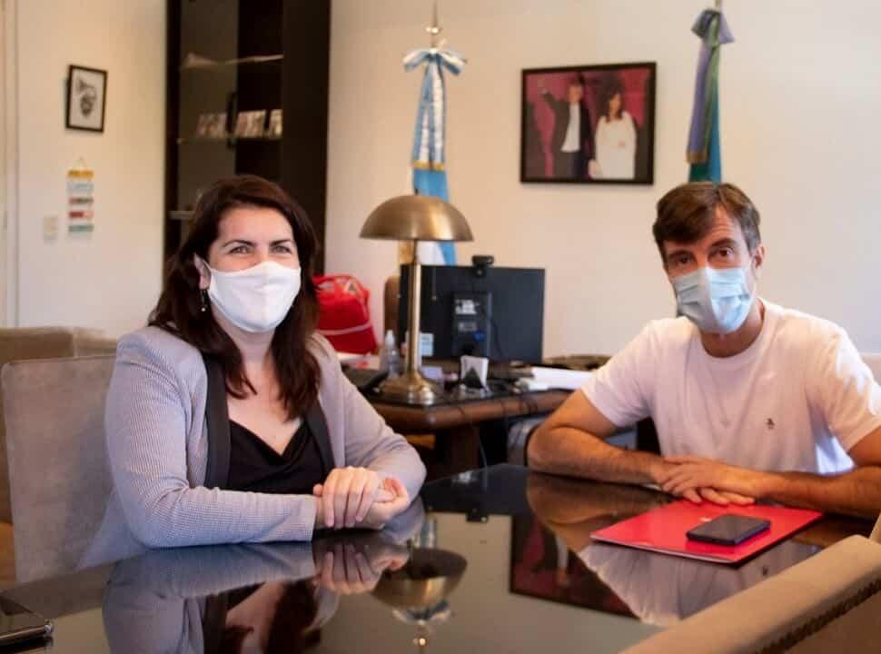 """Mariel Fernández y Lucas Ghi comparten agenda y buscan la """"unidad"""" del PJ"""