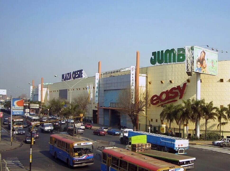 Golpe comando en el shopping Plaza Oeste: se llevaron más de un millón de pesos en joyas