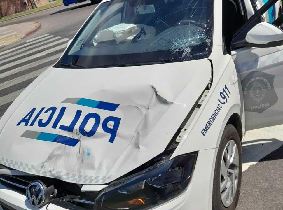 Morón: robaron, escaparon y fueron detenidos al chocar con un patrullero