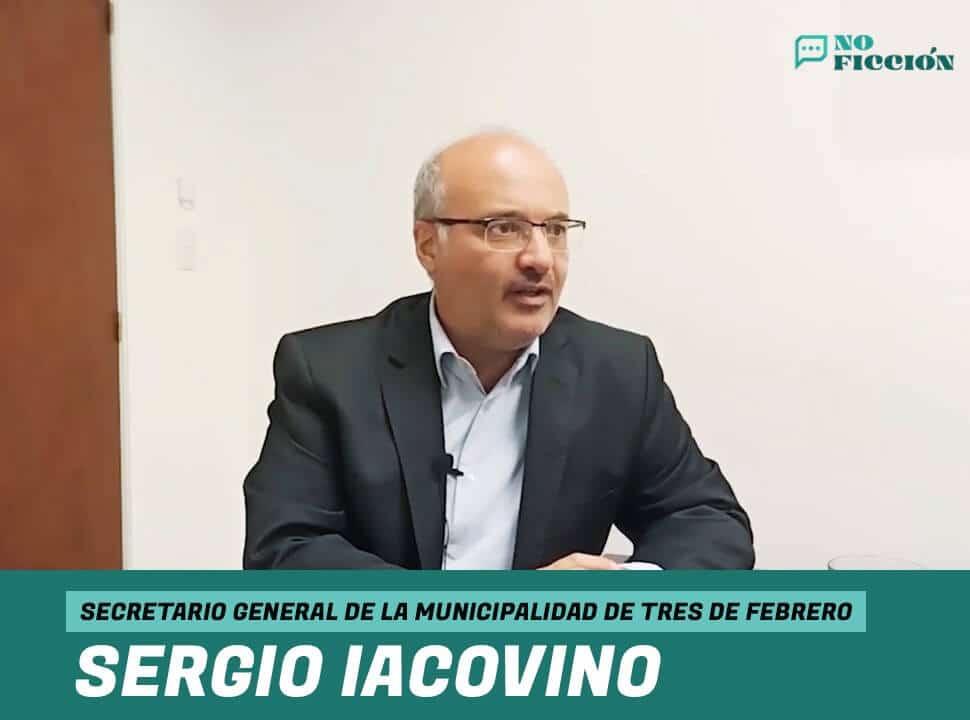 """Sergio Iacovino: """"La Provincia y la Nación tienen muchísimas diferencias en su manera de hacer política"""""""